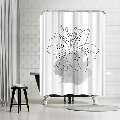Ikonolexi Lilly Shower Curtain