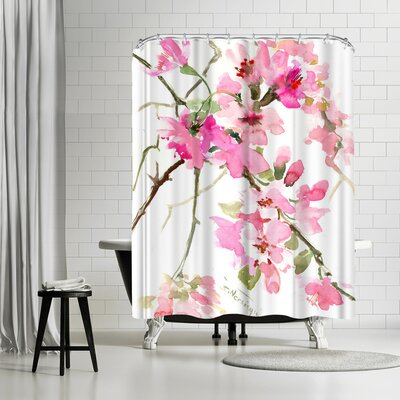 Anderson Design Group Flower Shower Curtain