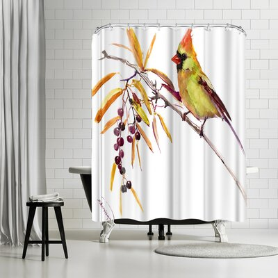 Adams Ale Bird Shower Curtain