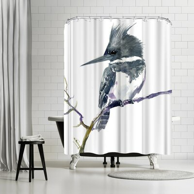 Adams Ale Belted Kingfisher Shower Curtain