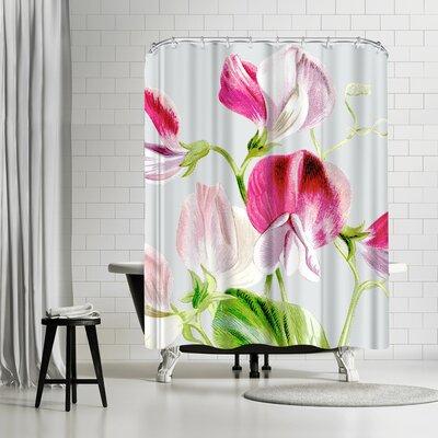 Ikonolexi Flowers Shower Curtain
