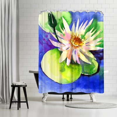 Suren Nersisyan Lotus Shower Curtain