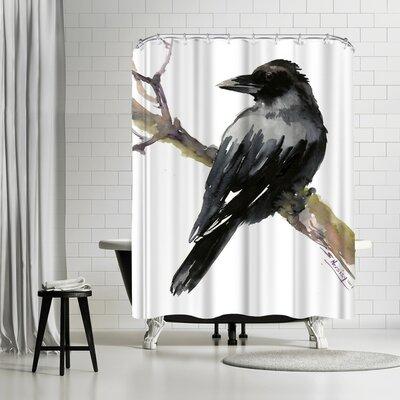 Suren Nersisyan Raven Shower Curtain