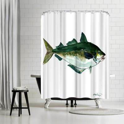 Suren Nersisyan Seafood Fish Shower Curtain
