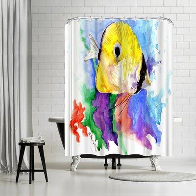 Suren Nersisyan Coral Reef Fish Shower Curtain