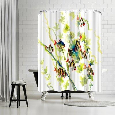 Suren Nersisyan Tiger Barb Shower Curtain
