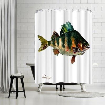 Suren Nersisyan Bass Fish Shower Curtain