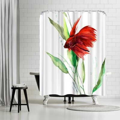 Suren Nersisyan Betta Shower Curtain
