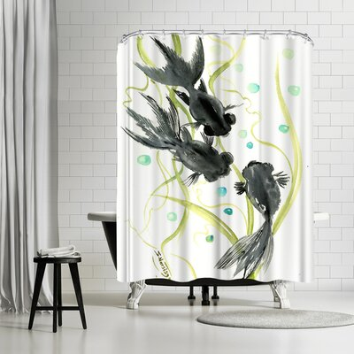 Suren Nersisyan Black Moor Shower Curtain