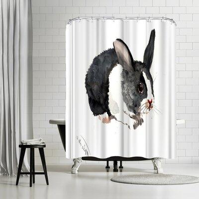 Solveig Studio Bunny Shower Curtain