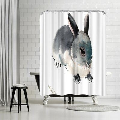 Solveig Studio Bunny Shower Curtain