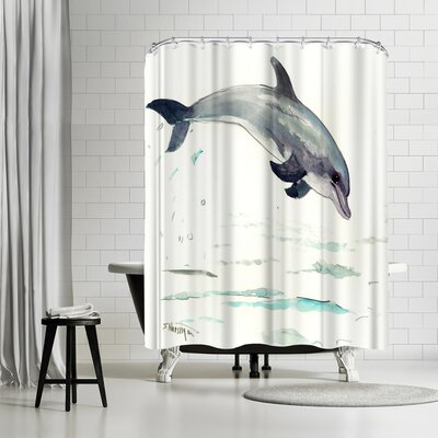 Solveig Studio Dolphin  Shower Curtain