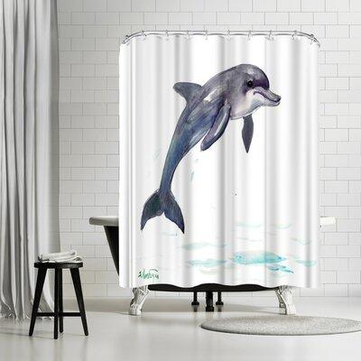 Solveig Studio Dolphin Shower Curtain