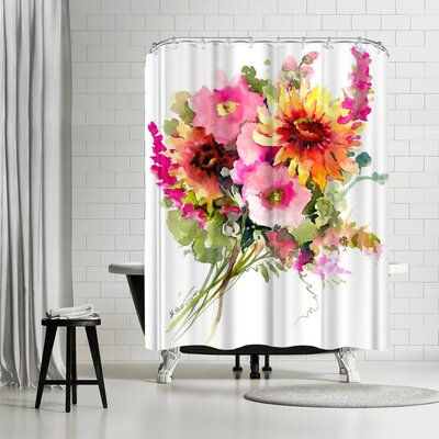 Solveig Studio Flowers Shower Curtain