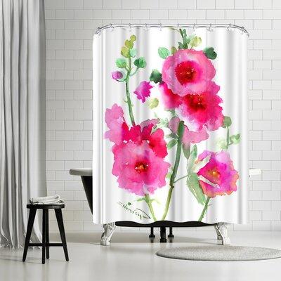 Solveig Studio Hollyhock Shower Curtain
