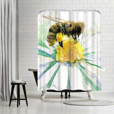 Solveig Studio Honey Bee Shower Curtain