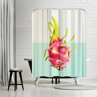 Ikonolexi Passion Fruit Shower Curtain