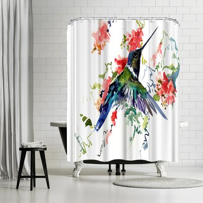 Solveig Studio Hummingbird Shower Curtain