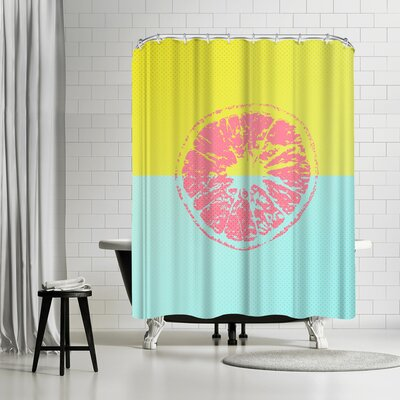 Ikonolexi Grapefruit Shower Curtain