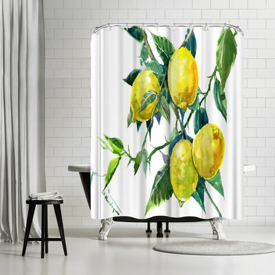 Solveig Studio Lemons Shower Curtain