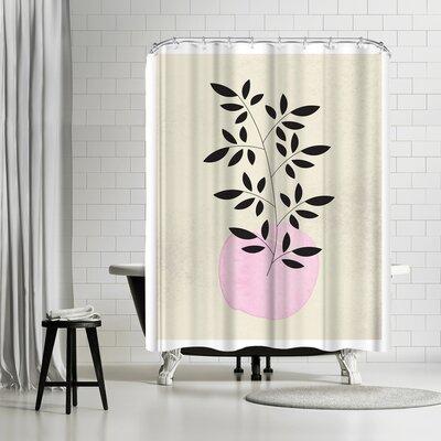 Ikonolexi Vintage Vase Shower Curtain