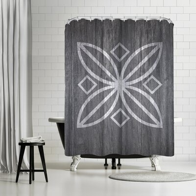 Ikonolexi Wood Shower Curtain