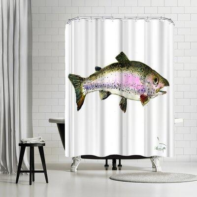 Solveig Studio Rainbow Trout Shower Curtain