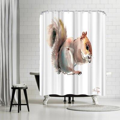 Suren Nersisyan Squirrell Shower Curtain