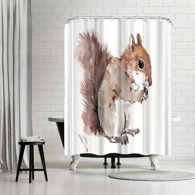 Suren Nersisyan Squirrell Shower Curtain