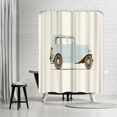 Florent Bodart Car Shower Curtain