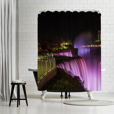 Melanie Viola Niagara Falls Nightscape Shower Curtain