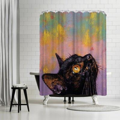 Michael Creese Fixed Gaze Shower Curtain