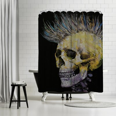 Michael Creese Mohawk Shower Curtain