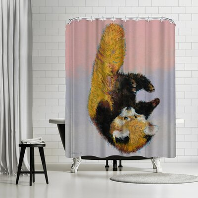 Michael Creese Panda Cub Shower Curtain