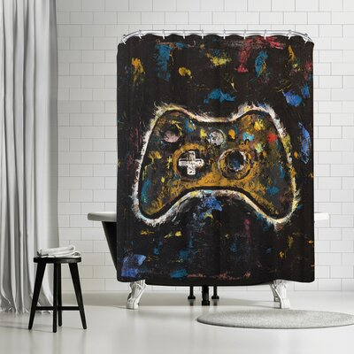 Michael Creese Video Gamer Shower Curtain