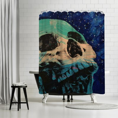 Michael Creese Zombie Stars Shower Curtain