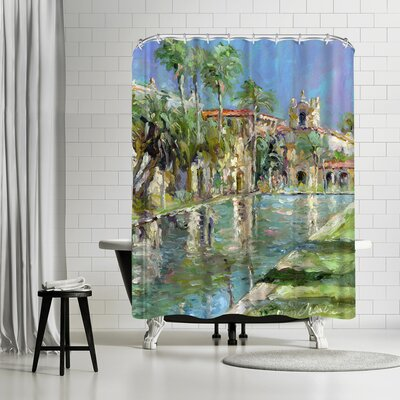 Richard Wallich Balbopark Shower Curtain
