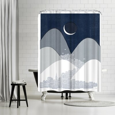 David Fleck Bleak Midwinter Shower Curtain