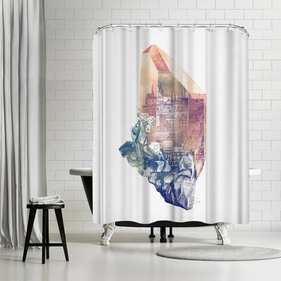 David Fleck Byzantium Shower Curtain