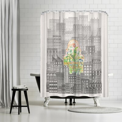 David Fleck Eva Shower Curtain