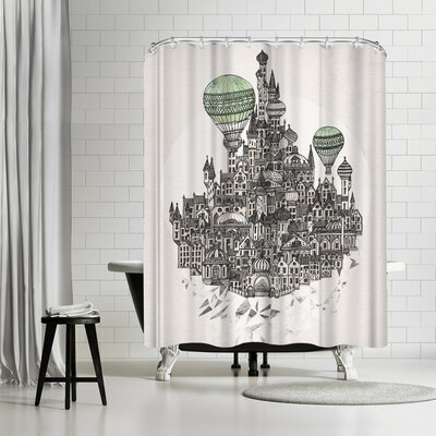 David Fleck Fennel Shower Curtain