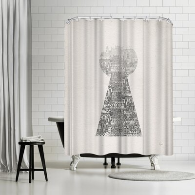 David Fleck Glimpse Shower Curtain