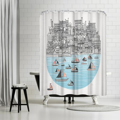 David Fleck Joppa Shower Curtain