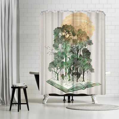 David Fleck Jungle Book Shower Curtain