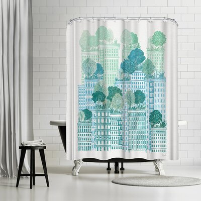 David Fleck Juniper Shower Curtain