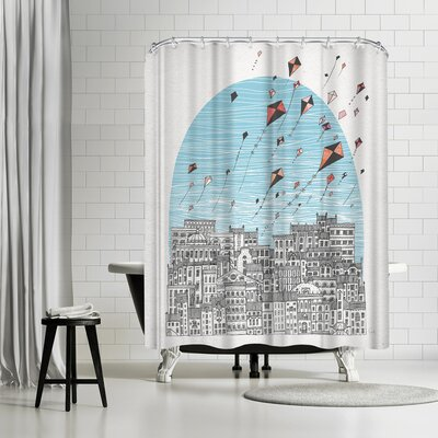 David Fleck Kedesh Shower Curtain
