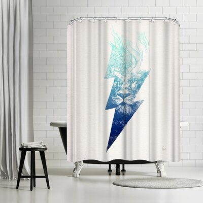 David Fleck King of the Clouds Shower Curtain