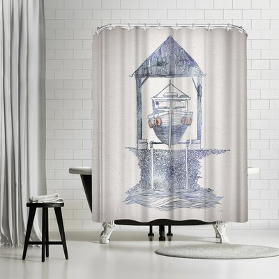 David Fleck Melvin Shower Curtain