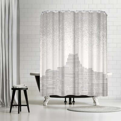 David Fleck Mercury Shower Curtain