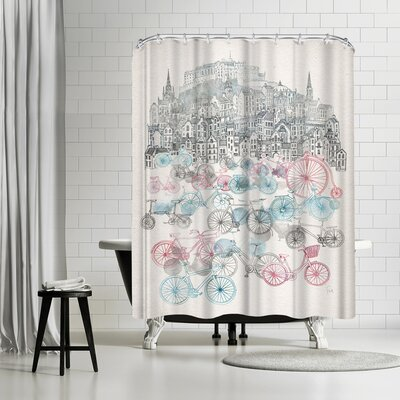 David Fleck Old Town Bikes Shower Curtain
